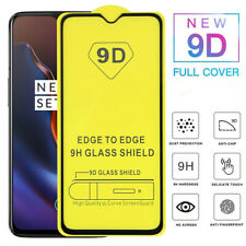 For OnePlus 7T Full Coverage 9D Curved Tempered Glass Screen Protector 9H