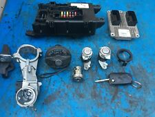 FIAT GRANDE PUNTO 1.2 8v ECU, LOCK SET & KEY 5 DOOR 00517986160 (2006-2010)