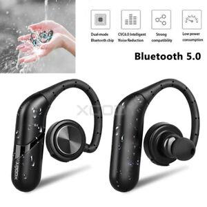 Bluetooth V5.0 Kopfhörer Kabellos Sport Stereo Headset Ohrbügel Im Ohr Kopfhrer
