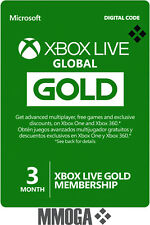 [Global] Xbox Live Gold Mitgliedschaft - 3 Monate Key Xbox 360 One 3 Month Code