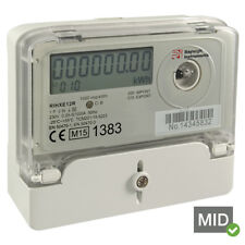 RIHXE12R  Single Phase 100AH Mains Electricity and solar kWh Meter