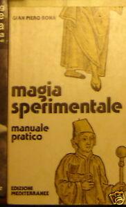 MAGIA SPERIMANTALE Bona 1^ '77 MEDITERRANEE Meneghello