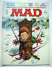 MAD MAGAZINE ( anglais ) N° 214 FEVRIER 1980