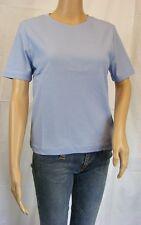★ PREGO ★ M ~ T-Shirt Shirt ~ mittelblau blau~ Exklusives Design - Top !