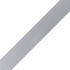 "25 yards single face white satin ribbon 2"" wide"