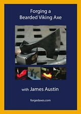 Forging a Bearded Viking Axe (DVD Tutorial)/blacksmithing/forge/wrought iron/Ax