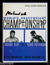 MUHAMMAD ALI Signed Trading Card - Boxing World Heavyweight Champion preprint