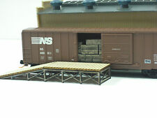 N Scale **LASER CUT ** Custom ** Loading Dock Kit