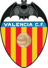 "Valencia FC Spain Soccer Football Car Bumper Sticker Decal 4"" x 5"""