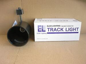 Elco ET639 75W Line Voltage PAR30 Round Back Cylinder Black