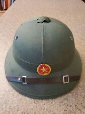 Vietnam Pith Helmet NVA Communist.