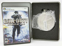 Call of Duty: World at War Limited Collector's Edition for PC DVD-ROM 2008