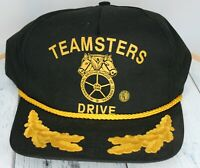 Vintage Teamsters Drive Hat International Brotherhood of Teamsters MADE IN USA