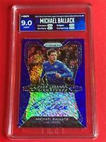 2020-21 Prizm Premier League Michael Ballack Auto FOTL CHELSEA BLUE SHIMMER HGA