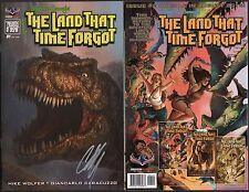 Edgar Rice Burroughs Land That Time Forgot #1 SIGNED Chris Scalf Variant Cover