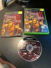 XBOX - Original Xbox The House Of The Dead III Game Complete PAL Euro Sega 2002