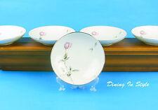 Set of 4 Dessert / Fruit Bowls, MINT & NEAR MINT! Dawn Rose, Style House