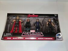 Marvel Legends Age of Ultron 4 Pack / Thor /Black Widow / Bruce Banner / Hawkeye