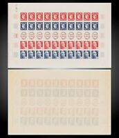 1949-1849 FRANCE CENTENAIRE DU TIMBRE CERES SHEET NH SCT.615a Y. 833A MI.840-843