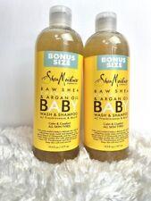 SHEA MOISTURE BABY CALM & COMFORT OIL RUB, (2) Bottles Of 19.5oz