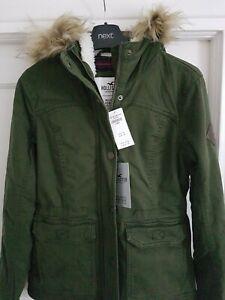 Lady /girls designer parker coat from holister size xs  bnwt bargain