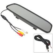 "Univeral Car Rear View Mirror Monitor TFT LCD Screen 4.3"" PAL and NTSC System"