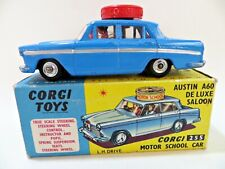 CORGI 255 'AUSTIN A60 DE LUXE SALOON MOTOR SCHOOL CAR. BOXED. EXCELLENT.
