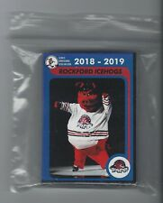 2018-19 Rockford IceHogs (AHL) complete 30 card team set