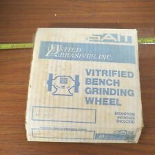 +United Abrasives/SAIT 28014 7 by 1 by 1 A60X Bench Grinding Wheel Vitrified 1-P
