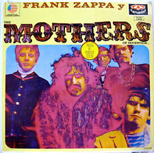 "FRANK ZAPPA ""FRANK ZAPPA Y THE MOTHERS OF INVENTION""  lp Mexico near mint"