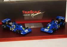 TYRRELL P34 6WHEELER 1ST & 2ND FINISH SWEDISH GP 1976 TRUESCALE LIM. 1/ 500 1/43