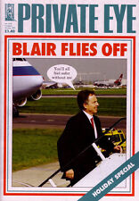PRIVATE EYE 1138 - 5 - 18 Aug 2005 - Tony Blair - BLAIR FLIES OFF