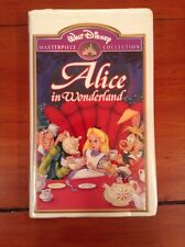 VINTAGE VHS TAPE DISNEY MASTERPIECE COLLECTION ALICE IN WONDERLAND / Tested