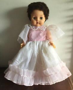 Beautiful Vintage Pedigree Vinyl Doll With Blue Sleep Eyes