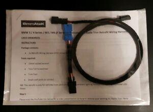 BMW M3/M4 Illuminated LCI Trim & Cupholder LED Retrofit Cable + Cup LED Unit