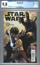 Star Wars #10  (2015)  Immonen Cover Luke Skywalker 1st Print   CGC 9.8