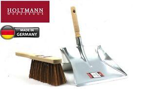 Metal Dustpan Steel Dust Pan and Hand Brush Stiff Heavy Duty Choose Items