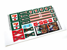 CUSTOM DIE CUT STICKERS for 7 ELEVEN 7-11 STORE ( 3438 McDonald' size)