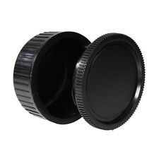 Body Cap & Camera Rear Len Cover Set for Pentax K30, K5, K7 K20D, K110D, K200D,