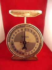 HANSON HOUSEHOLD SCALE 25 LB. WORKING CONDITION COUNTRY DECOR.