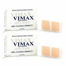 Vimax Patch 2 Month Supply Male Enhancement Patches BIG HARD THICK ENLARGEMENT