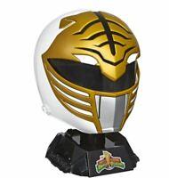 Power Rangers Lightning Collection Mighty Morphin White Ranger Helmet New