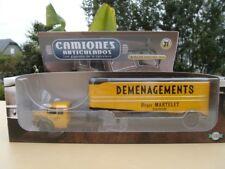 BERLIET TLR 8 Camion Semi Remorque DEMENAGEMENTS MARTELET 1/43 Neuf en Boite