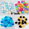 "5"" inch small latex balloons WHOLESALE party birthday 100 wedding all decoration"