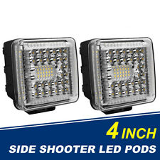 2PC 4Inch 1024W LED Light Bar Pods Lights Combo for Driving Off-Road Truck 4X4WD
