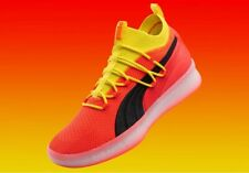 Puma CLYDE COURT Disrupt Red/Yellow/Black/Orange Basketball 191715 02 Men's 10.5