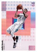2017-18 Status Malik Monk Hornets #102 NBA Rookie RC PWE