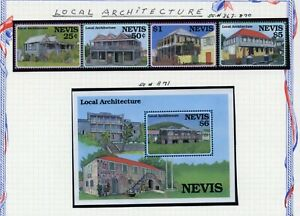 NEVIS   MNH   867-71   Local Architecture     AG894