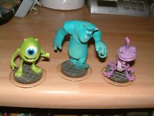 MONSTERS INC COMPLETE SET DISNEY INFINITY 1.0 2.0 3.0 XBOX 360 ONE PS3 PS4 WII U