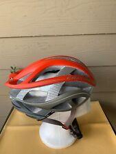 Cratoni Terron Helmet C-Bolt Red & Grey Sz M/L (56-59)
